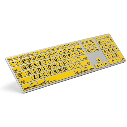 ZoomText mac Large-Print Keyboard