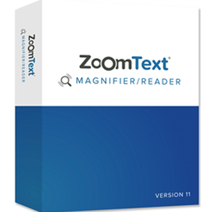 Image of the ZoomText 11 box