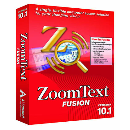 Image of ZoomText Fusion Product Box