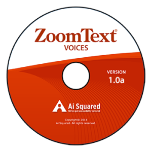 Image of ZoomText Voices CD
