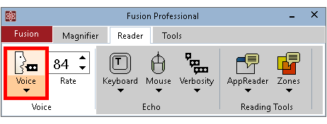 Using Speech with Fusion 2019 - zoomtext com